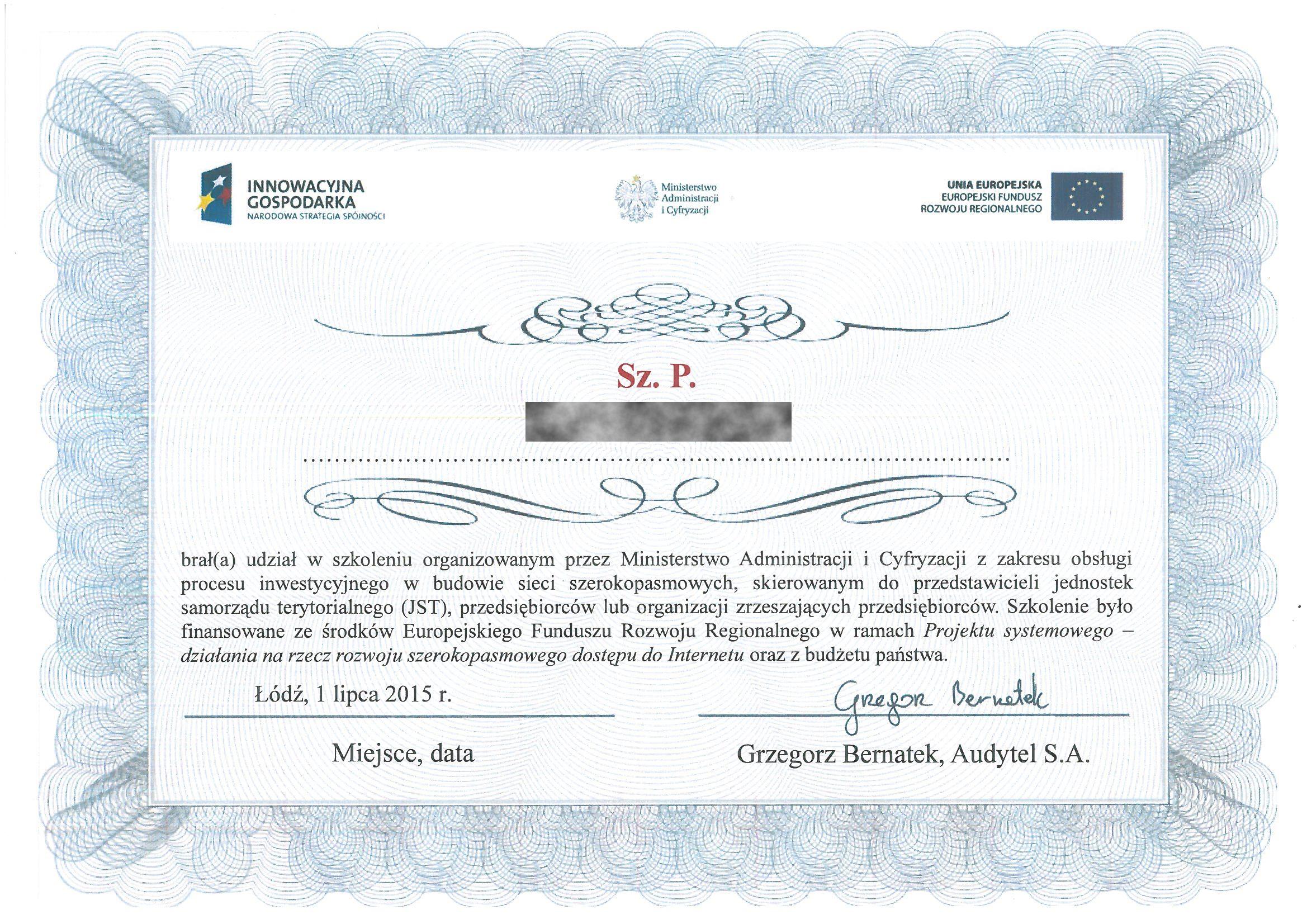 Ministerstwo Administr i Cyfryz 2015 TB RODO