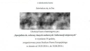 SPE 2016 TB Spec.ds.ochrony danych osi inf niejawnych RODO.