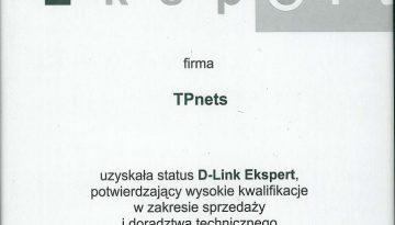dlink_2001_expert_certyfikat